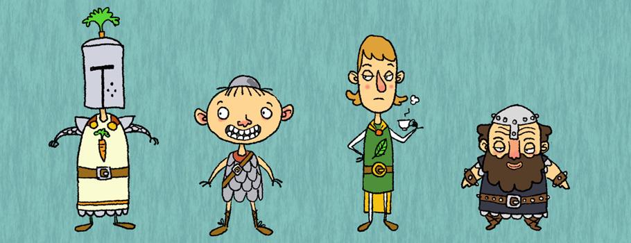 karakterdesign bog skraentskov