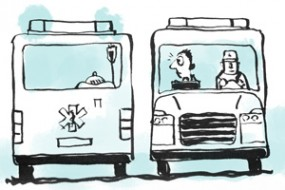 Illustrationer – brochure Trolles Sygepleje