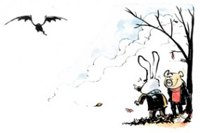 Julekort og kort – illustration